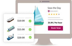 Let your customers' book boats, yachts and cruisers with boat rental software. Get unlimited bookings, Manage trips, flexible pricing, promotions and etc. Book Boat, Boat Rental, Yachts, Boats, Trips, Rabbit, Software, Management, Viajes