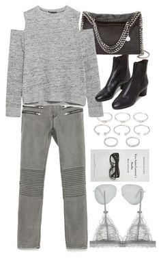 """""""Untitled #7998"""" by nikka-phillips ❤ liked on Polyvore featuring STELLA McCARTNEY, Forever 21, Zara, Isabel Marant, Victoria Beckham and Barneys New York"""