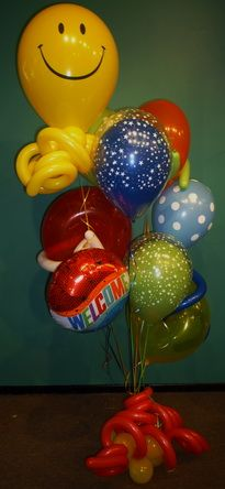Welcome Balloon Bouquet Same Day Delivery Fort Lauderdale Boca Raton Flowers And Helium Balloons