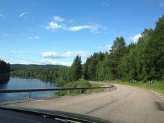 Klarälven Country Roads, Mountains, Nature, Travel, Summer 2015, Sweden, Travel Destinations, Voyage, Viajes