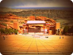 Red Rocks Amphi Theater Denver Colorado by ~Gladkih on deviantART