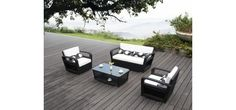 VGHT-H18D4-Piece Outdoor Patio Setwaterproof to prevent damage. includes chairsDIMENSIONS:-Loveseat W62