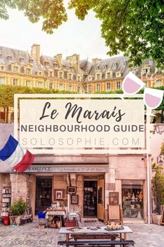 Your ultimate Parisian guide and Itinerary- Paris guide to Le Marais, things to do in Paris, France! Place des Vosges, pretty cafés, Village Saint Paul etc. Paris Ville, Paris France, Paris 3, I Love Paris, Paris Tour, Paris In Spring, Paris Restaurants, Paris Travel Guide, Travel Guides