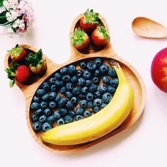 Here's how we ensure we have we're getting a healthy dose of fruits (especially in this hazy weather)!