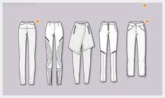 #Skirtpants #newsilhouettes #womensfashion