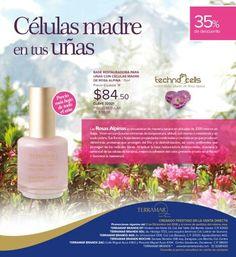 Regeneradora tus uñas  con las células madre de rosas alpina.  Todo el mes de diciembre con 35% de descuento.