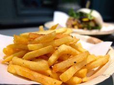 Pommes im Bun Bao Burger @ Berlin Prenzlauer Berg. #berlin #burger