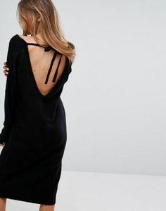 Платье-джемпер с завязкой сзади Micha Lounge