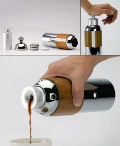 esPRESSivo Portable Espresso Coffee Maker.