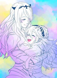 Fire Emblem: If/Fates - Kamui and Camilla