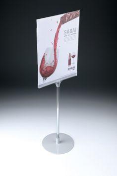 Acrylic Showcard Stand