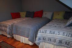 Ideas for a boys' bedroom.