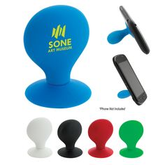 http://www.promosmall.com Promotional Products - Promotional Items - Phone stand w/ Suction Cup