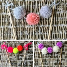 Hey, I found this really awesome Etsy listing at https://www.etsy.com/uk/listing/514729627/pom-pom-cake-toppers-in-a-variety-of