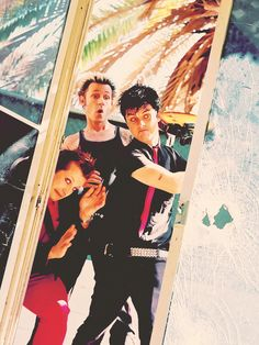 Ridiculous personalities but powerful messages in their songs...that's why I love Green Day. :D