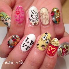 @aoki_nail(aoki_nail)によるInstagramの写真| Iconosquare