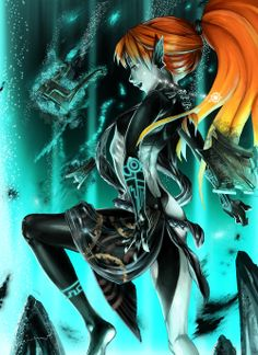 Awesome Midna, So pretty X) fanart for The Legend of Zelda: Twilight Princess Never even thought what her face would have looked like in imp form without the mask! The Legend Of Zelda, Legend Of Zelda Breath, Zelda Twilight Princess, Geeks, Bubbline, Image Zelda, Pokemon, Pikachu, M Anime