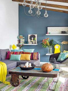 Un appartement coloré avec terrasse en Andalousie - PLANETE DECO a homes world