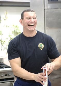 Chef Robert Irvine- love him and Restaurant Impossible