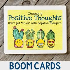 Boom Cards - Negative Thinking Patterns