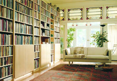 Lundia : bibliothèeque modulable, comme Ikea Ivar en plus classe, plus de dimensions et plus de couleurs