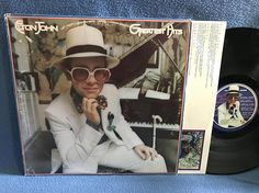 Vintage Elton John  Greatest Hits Vinyl LP