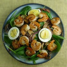 Salad - Shrimp on Pinterest | Shrimp salads, Grilled shrimp salads ...