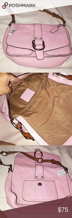 Coach Handbag NEW (WEEKEND SPECIAL) Pastel pink beautiful color Coach Bags Shoulder Bags
