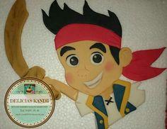 Placa de Jake el pirata