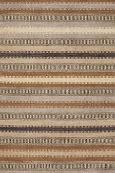 """Dash and Albert Rugs- """"Tin Ladder Stripe"""" Wool Woven Rug -Available @ Maryland Paint & Decorating"""