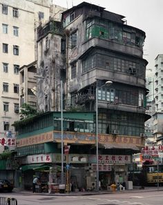 hong kong corner houses.