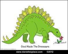 Dinosaur Coloring Sheet Picture from www.daniellesplace.com