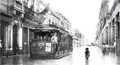Enchente na Rua do Senado, Centro, primeira metade do século XX (?).