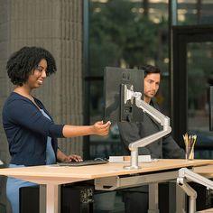 Best Sit Stand Height Adjustable Desks Available https://www.multitable.com/ #heightadjustable #heightadjustabledesk #standingdesk #interiors #interiors