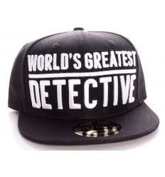 FDS Casquette Batman World's Greatest Detective – Tsilemewa Dc Comics, Baseball Hats, Licence, Boutique, Paris Fashion, Hair Caps, Crate, Products, Accessories