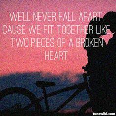 """two pieces"" by Demi Lovato #lyrics"