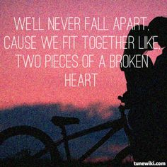 """two pieces"" by Demi Lovato #lyrics"