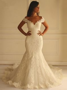 dress wedding gown on sale at reasonable prices, buy Vintage Lace Mermaid Wedding Dresses 2016 vestido de noiva Sweetheart Fully Appliques Court Train Bridal Gowns robe de mariage from mobile site on Aliexpress Now! Perfect Wedding Dress, Dream Wedding Dresses, Bridal Dresses, Bridesmaid Dresses, Prom Dresses, Dresses 2016, Event Dresses, Trumpet Wedding Dresses, Fitted Wedding Dresses