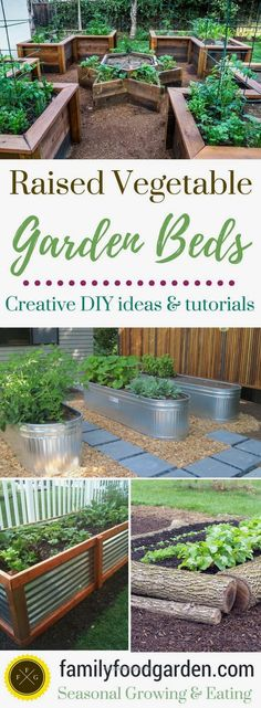 Raised garden beds add a lot of beauty to a garden. They're also excelle… http://www.housedesigns.top/2017/08/07/raised-garden-beds-add-a-lot-of-beauty-to-a-garden-they39re-also-excelle/