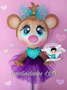 Foamy Foam Crafts, Diy And Crafts, Arts And Crafts, Craft Gifts, Coloring Books, Pony, Minnie Mouse, Baby Shower, Dolls