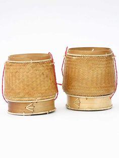 handmade sticky rice basket from Laos. Looks just like mine!