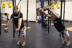 TRX Fallouts | Core Stability | Anti-Extension | Abs -- Keep your spine in neutral alignment; don't let your lumbar spine hyperextend