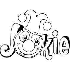 Kleurplaat Jokie