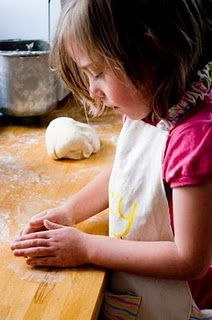 ten easy things to cook with kids - to jog your memory when you forget (bread, pizza, etc)