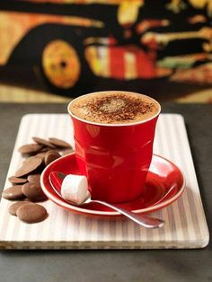 coffee & chocolate buttons