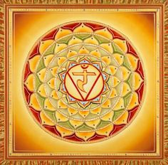 represents the solar plexus and resonates to the colour and personal power.