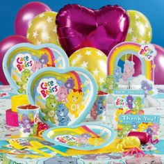 Birthday Plates   Care Bears Party Supplies: Make sure that no matter what you buy in ...