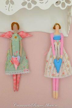 CamomilaRosa e Alecrim: Artes em bonecas e agulheiro com reciclagem...