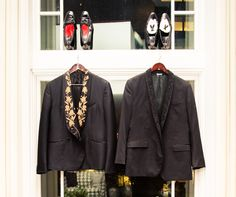 """""""[There are] only five [Alexander McQueen tuxedo jackets] made in the world, one is owned by Christian Louboutin in a different color, we both wore it to the same event once."""""""