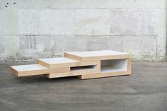 REK coffee table by Reinier de Jong » Retail Design Blog